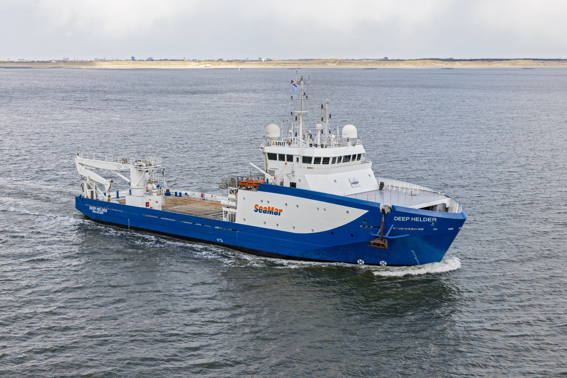 SeaMar Group awarded long-term contract by MMT for Deep Helder